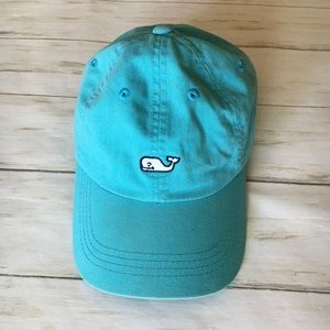 Vineyard Vines Blue Whale Logo Baseball Hat